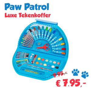 Pawpatrol-luxe-tekenkoffer