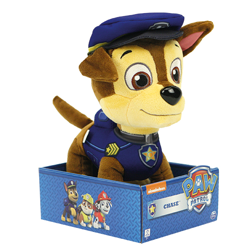 Originele Paw patrol knuffel Chase 25 centimeter groot