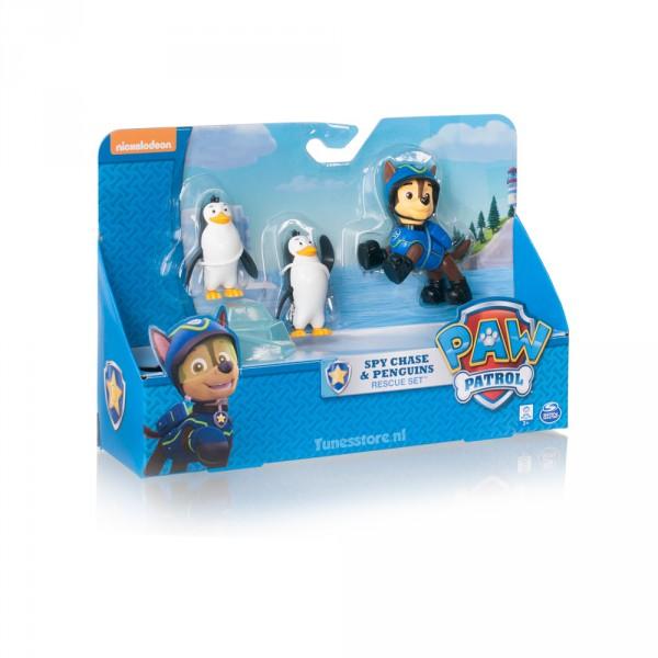 Paw Patrol Chase met twee pinguïns