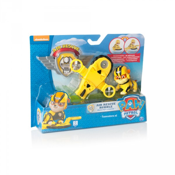 Paw Patrol Air-force pup Rubble