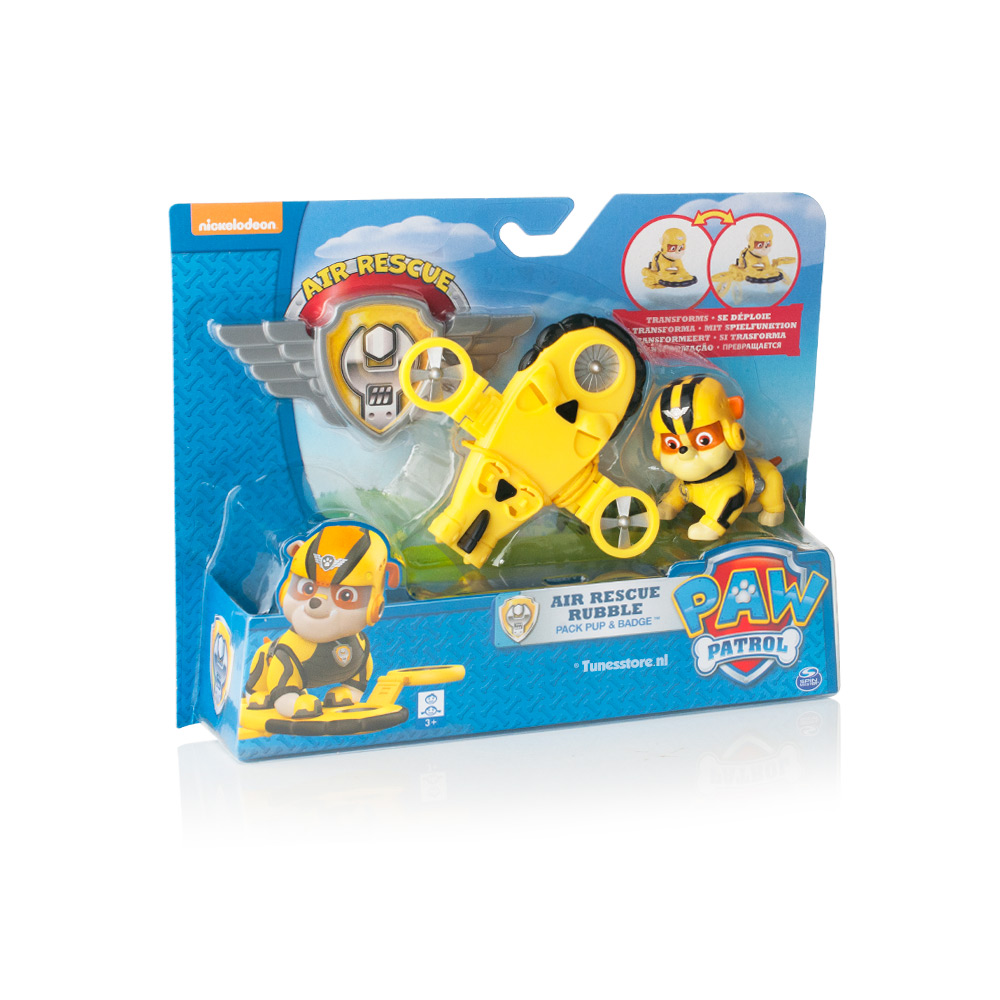 Paw Patrol Air force pup Rubble