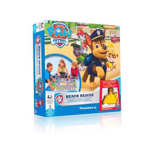 Paw Patrol Beach Rescue speelmat met figuurtjes