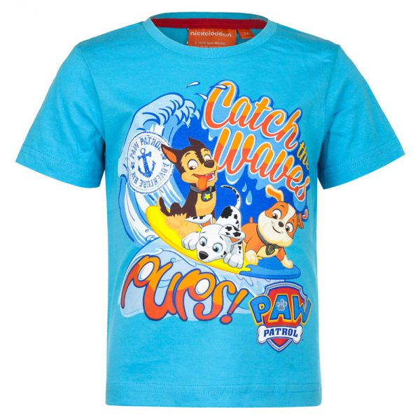 Paw Patrol - T-Shirt Blauwe kleur