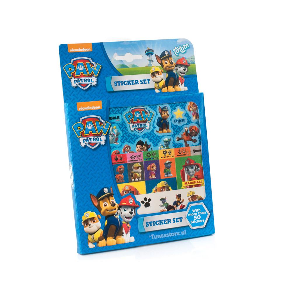 Paw Patrol Sticker set met meer dan 50 Paw Patrol stickers