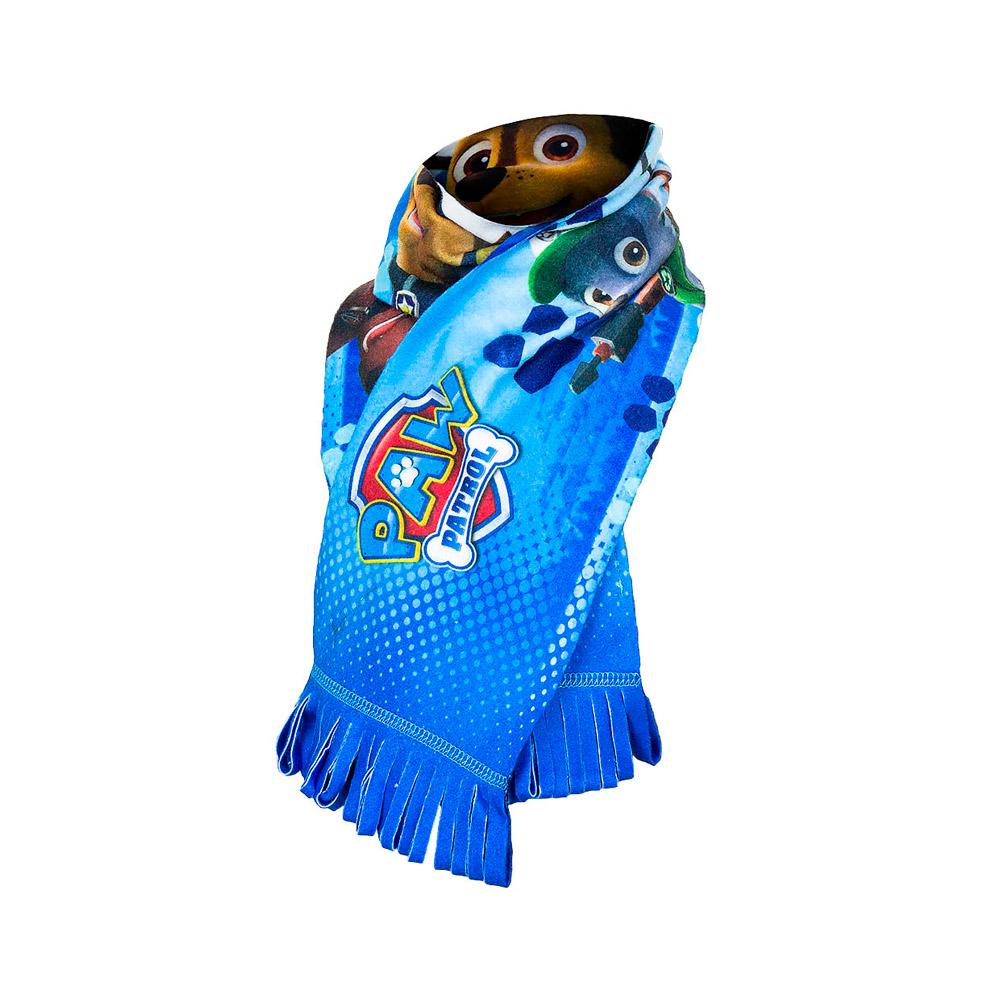 Heerlijk warme Paw Patrol sjaal