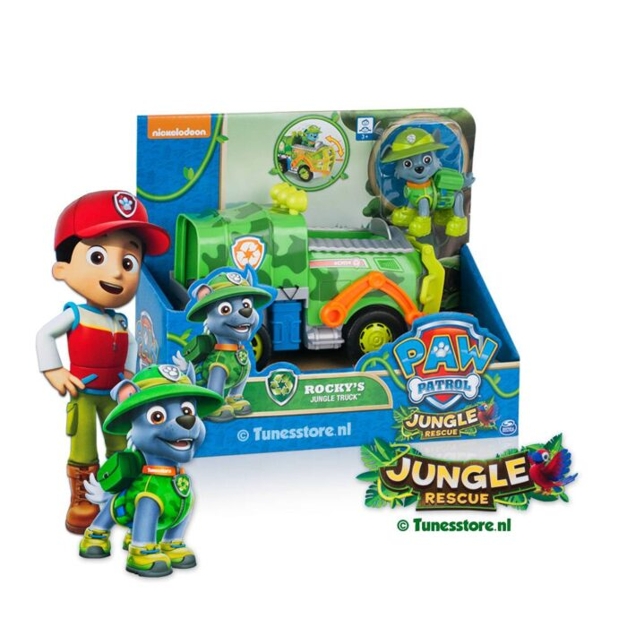 Paw Patrol rocky jungle racer