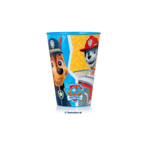 paw-patrol-chase marshall rubble drinkbeker