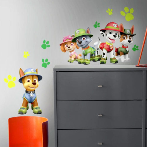 paw-patrol-muurstickers-jungle