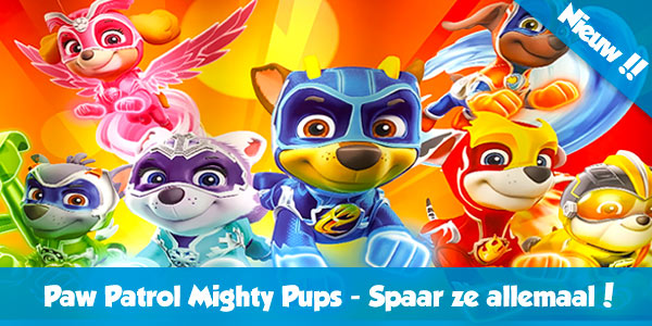 Paw Patrol Speelgoed Mighty Pups